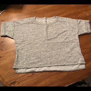 MADEWELL Heathered Grey Top